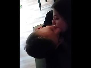 eerste keer, kussen, Tiener