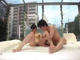 chick, pijp, ejaculatie, handjob, japaans, likken, poes, poesje likken