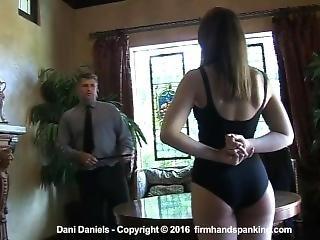 Dani Daniels Spanked To Tears