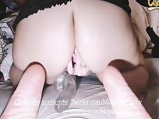 Delicious Wife Goes Live On Cam! Fucking Pussy & Butthole!