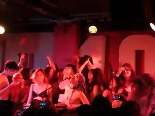 Girls At Soko Concert Show Their Tits On Stage