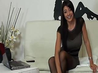 Sofia Cucci On The Phone With Fan Jerks Off And Squirts