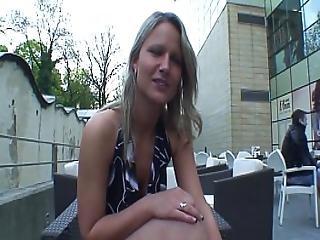 Real Czech Waitress Fucks For Money