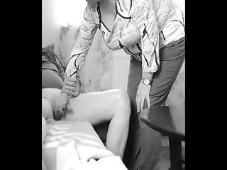 Me Flashing Horny Granny