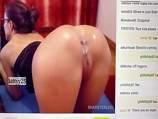 Farting Ass Gape