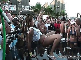 Insane Party Becomes A Madness And Girls
