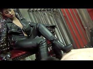 Asian, Fetish, Leather, Slave