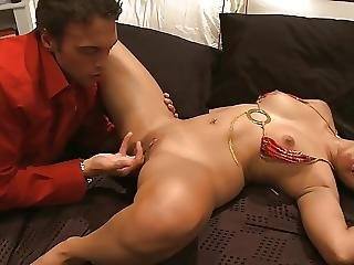 Slutty Asian Moans While Getting Fucked By A White Dude