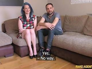 Fakeagentuk Horny Couple Want To Fuck On Camera
