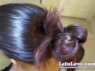 Lelu Love-pov Cum In My Hair And Bun