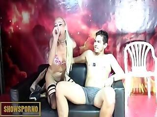 Blonde Italian Pornstar Brutal Fistfucking