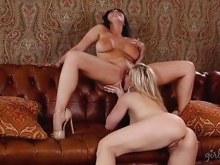Romi Rain And Ashley Fires, Anal Affair
