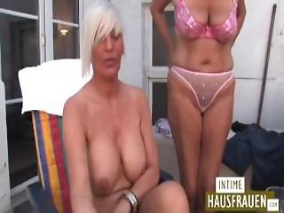 German Ugly Lesbos