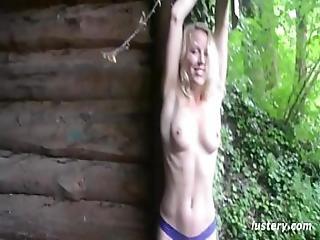Lesbian Sex Adventure In The Park