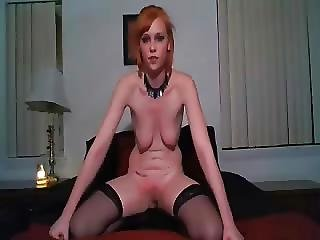 My Stupid Slave Self Spanking For Me Amateur