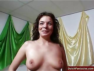 Dutch Milf Teaches Friends Sex