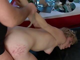 ブロンド, 精液, ファッキング, AV女優, パブリック, 荒っぽい, セックス, ストアー
