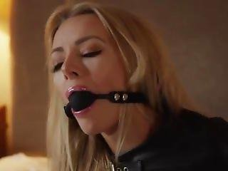 Hannah Ball Gagged