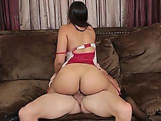 Bootylicious Latina Milf Enjoys Hardcore Sex