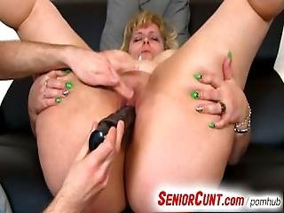 Mature Pussy Fingering And Toying Feat. Fat Mom Anna