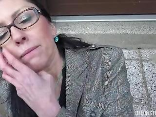 Mature Czech Women Street Pov