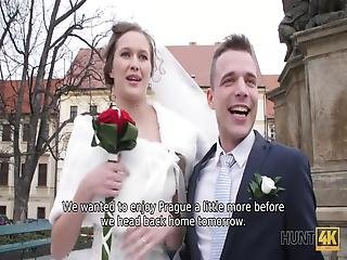 I Was Wandering Around Prague, When I Suddenly Noticed A Happy Couple Of Newlyweds, Posing For Their Wedding Album I Began To Watch Them And Imbued With Their Happiness So Much That I