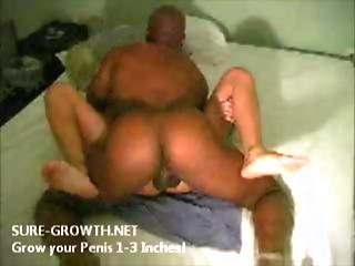 Sensual Interracial Sex Ends With A Cumshot On This Blonde Wife S Belly
