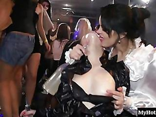 A Group Sex Scene Here At This Party Includes Straight Pussy Fucking From