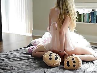 She Fucks The Teddy Bear