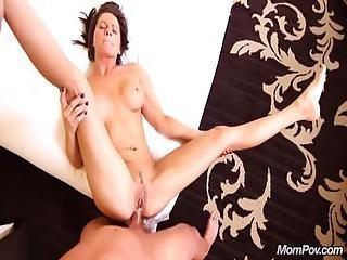 Tan Perfect Ass Milf Gets A Pov Creampie