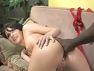 Kelly Klass Watched While Filled By Black Cock