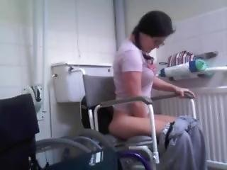 Enema bondage amateur