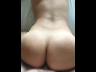 Young Big Ass Brunette Loves Cock