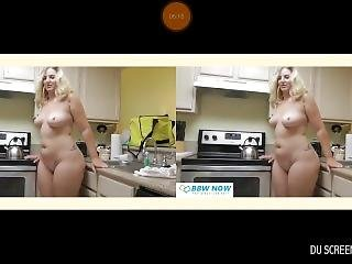 Vr Blonde Undressing