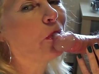 Grandmas Friend Done A Fantastic Blowjob She Eat My Cum