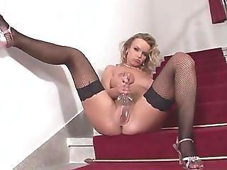 Renata Daninsky Hottease On Stair