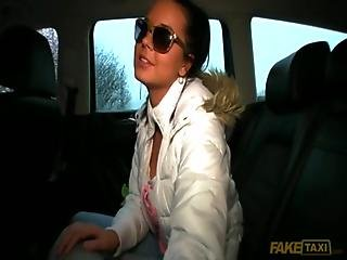 Czech Girl Mia Manarote Fucked By Taxi Driver