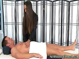 Massaging Honey Cumshot