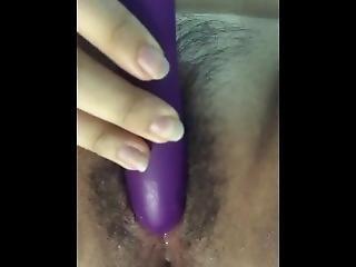 Hairy Asian Babe Masturbates And Orgasm Fun With Vibrator