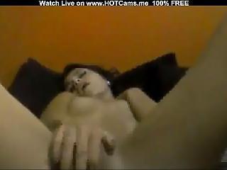 Cute Camgirl Solo Orgasm