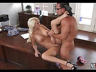 Busty Blonde Milf Office Fuck Kenzie Taylor