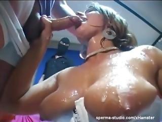 bukakke, sperma, ladung, extrem, orgie, sexy