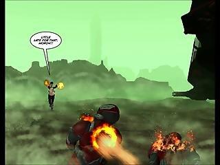 3d Comic Rebellion. Episode 2
