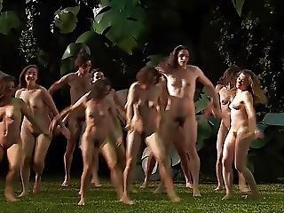 erotica, nudist, udendøres, offentlig, fisse, softcore