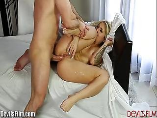 Devilsfilm Madelyn Monroes Tight Ass Fucked