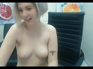 18yo Blonde 1st Day On Cam (1)