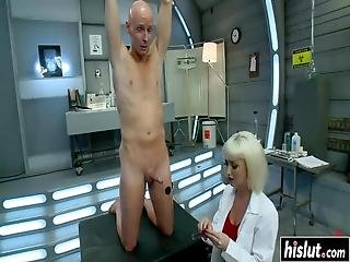 Cherry Torn And Two Guys Take Turns At Fucking Each Other While They Moan