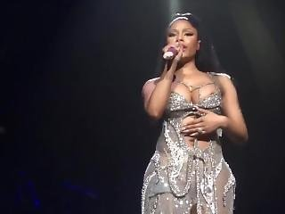 Nicki Minaj Nipple Slip