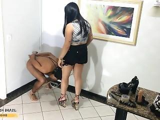 Cbt Ballbusting Hard Mistress Beeh Girls Fetish Brazil
