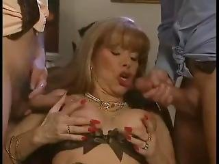 Cumshoots On Mature Queen Babette Blue!